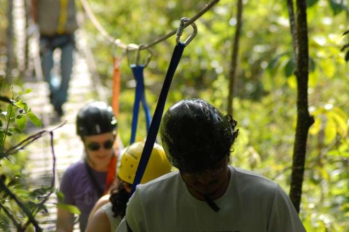 Estação Ecológica programou percursos para adultos e crianças (Foto: Foca) Lisboa/UFMG