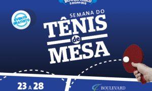 Boulevard Shopping BH promove até domingo a Semana do Tênis de Mesa