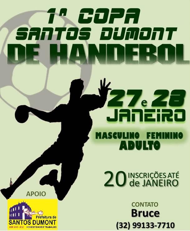 1º COPA DE SANTOS DUMONT DE HANDEBOL