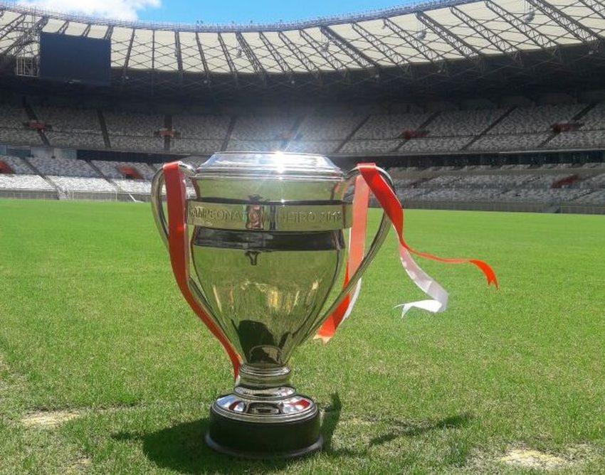 Doze times disputam o troféu do Campeonato Mineiro 2018 (Foto: Divulgação FMF)