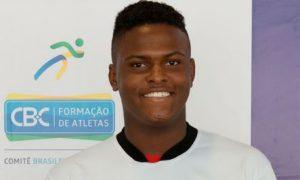Atleta do Mackenzie, Andrew Augusto participa de ação do Comitê Brasileiro de Clubes visando Tóquio-2020