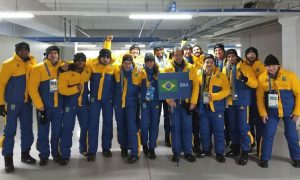 Time Brasil leva o carnaval para a cerimônia de abertura dos Jogos Olímpicos de Inverno Pyeongchang 2018