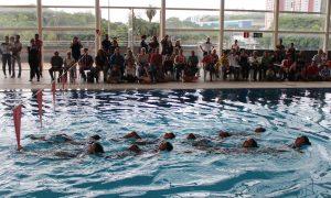 Equipe de nado sincronizado de Belo Horizonte está com vagas abertas para treinos no CTE