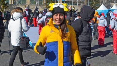 Jaqueline foi uma das primeiras atletas brasileiras a chegar na Coreia. Foto: Christian Dawes/COB