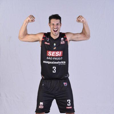 Rafael Mineiro, jogador do Sesi/Franca (Foto: reprodução/twitter do atleta)