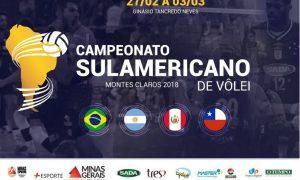 Dia de clássico no Sul-Americano Masculino de Vôlei