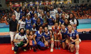 Camponesa/Minas é tricampeão do Sul-Americano de Clubes Femininos