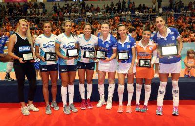 Camponesa/Minas dominou a seleção do campeonato (Foto: Orlando Bento/Minas Tênis Clube)