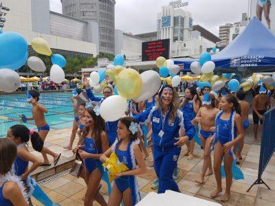 Clarisse, atualmente, trabalhou com crianças de até 12 anos durante o ano de 2017. (Foto: Orlando Bento/Minas Tênis Clube)