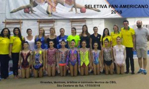 Ginasta belo-horizontina  classifica-se para Campeonato Pan-Americano Juvenil de ginástica
