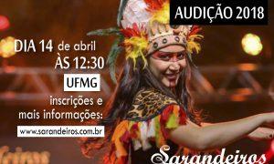 Grupo de Dança Sarandeiros da EEFFTO abre inscrições para sua seleção anual de novos dançarinos