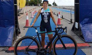 Atleta do CTE conquista medalha de prata em Campeonato Sul-americano de Triathlon em Montevidéo