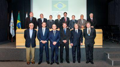 COB conheceu hoje os novos integrantes da sua diretoria. (Foto: Reprodução/COB)