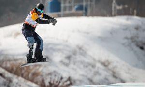 Sistema falha e brasileiro é eliminado nas oitavas do snowboard nos Jogos de Inverno