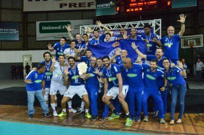 Com o título, equipe cruzeirense garantiu vaga no Mundial de Clubes. (Foto: Uarlen Valério/O Tempo)