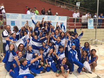 Clarisse foi técnica da equipe do Minas em vários títulos na categoria Mirim. (Foto: Divulgação/Minas Tênis Clube)