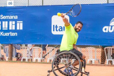 Daniel ficou em primeiro lugar nos Jogos Para-Sul-Americanos em Santiago em 2014. (Foto: Arquivo Pessoal)