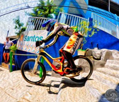 Recentemente, o atleta ficou entre os dez mais bem colocados na tradicional Descida das Escadas de Santos. (Foto: Arquivo Pessoal)