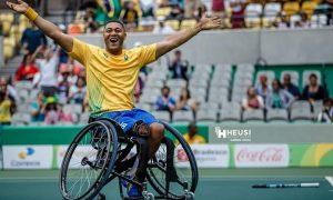 Do toque de um 'anjo' à conquista de medalha parapan-americana: conheça a história do tenista Daniel Rodrigues