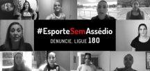 #EsporteSemAssédio – Conheça campanha do Ministério do Esporte