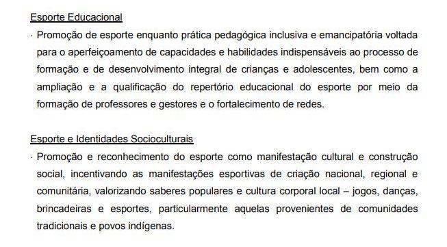 Trecho retirado do regulamento de seleção pública. (Foto: Reprodução/Petrobras)