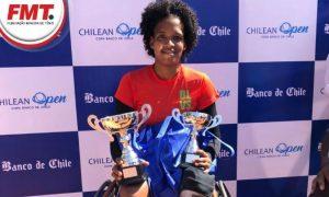 Tenista cadeirante de Minas, Meirycoll Duval, conquista medalhas no Chile