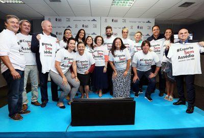 Lançamento da campanha aconteceu no Ministério do Esporte, em Brasília. (Foto: Francisco Medeiros/ME)