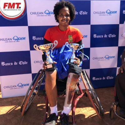 Mineira está entre as 50 melhores tenistas do mundo. (Foto: Reprodução/FMT)