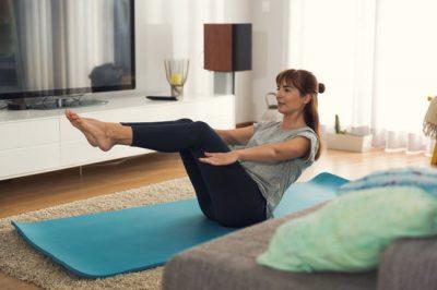 Existem diversos exercícios para fazer em casa Foto: Canvas