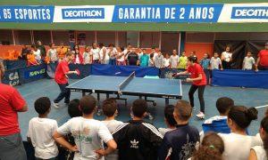 Federação Mineira de Tênis de Mesa promove projeto em escolas públicas