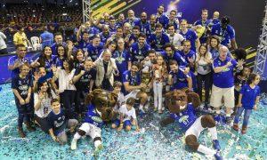 Sada Cruzeiro conquista mais uma vez a Superliga Brasileira de Vôlei