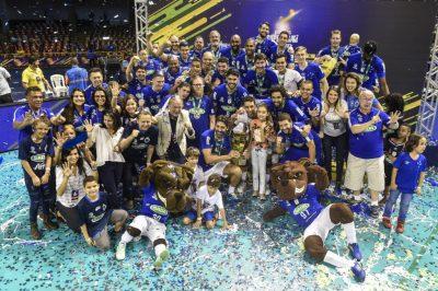 Festa do time Hexacampeão da Superliga