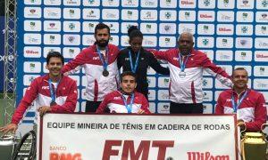 Minas Gerais é campeã da 1ª Copa das Federações de Tênis em Cadeira de Rodas
