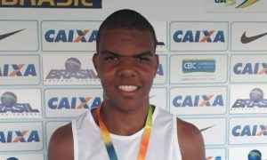 Atleta de Lagoa da Prata foi medalhista no Campeonato Brasileiro de Atletismo Sub-18