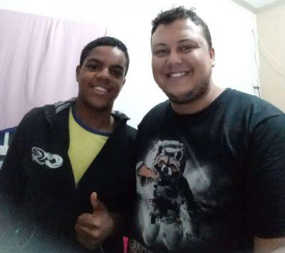 Michel Medeiro e Luan de Oliveira Foto: Divulgação/ Handminas