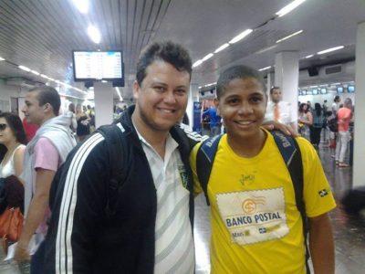 Wesley de Jesus e Michel Medeiro Foto: Divulgação/ Mantena Online