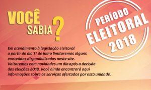 Informações sobre o período eleitoral