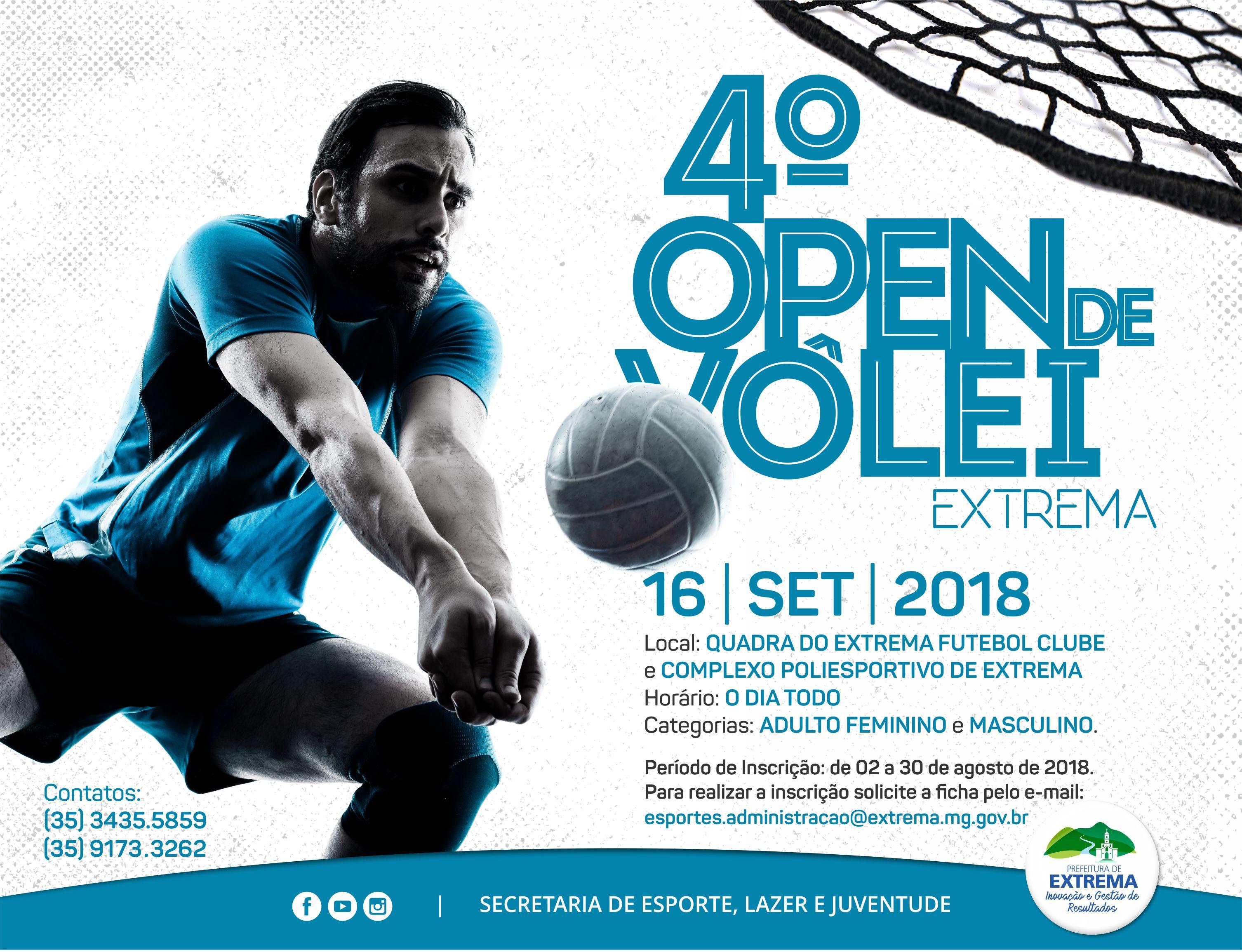 4º Open de Vôlei de Extrema