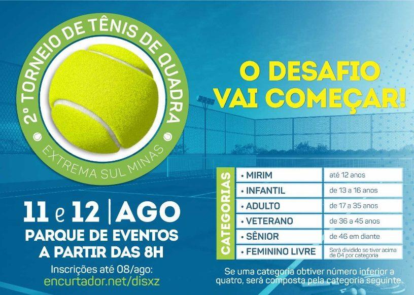2º Torneio de Tênis de Quadra de Extrema
