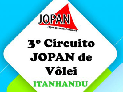 3º CIRCUITO JOPAN DE VÔLEI EM ITANHANDU