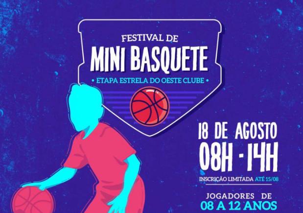 Festival de Mini Basquete Estrela do Oeste Clube