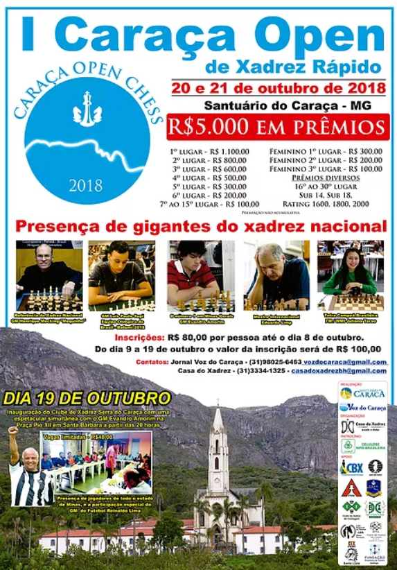 Foto: Divulgação/Casa do Xadrez