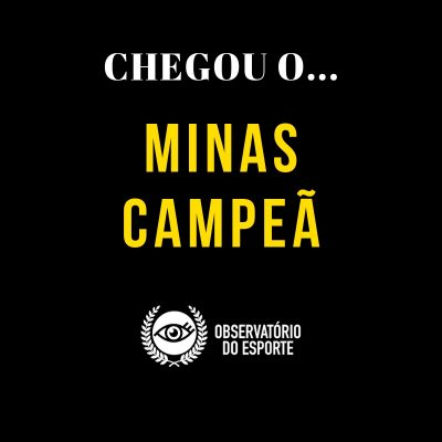 MINAS CAMPEÃ