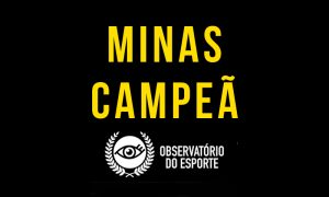 Chegou o Minas Campeã