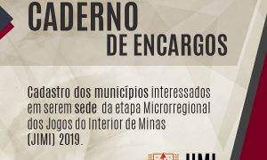 Seja o município sede da Etapa Microrregional do JIMI 2019!