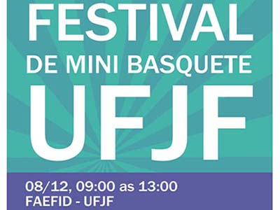 3º Festival de Mini Basquete UFJF