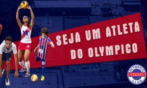 Olympico Club abre processo seletivo para novos atletas de Futsal, Basquete, Voleibol e Natação