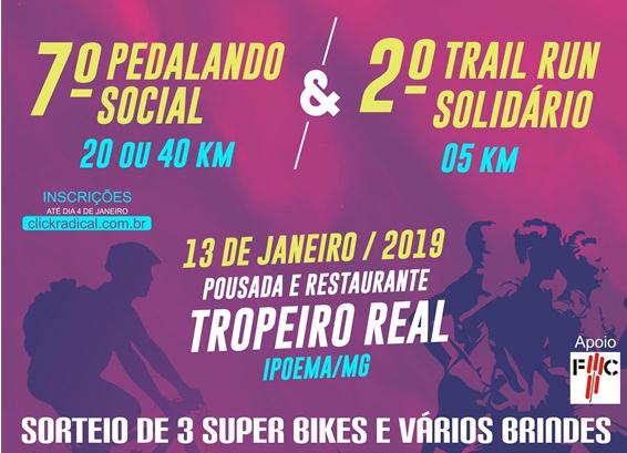 7º Pedalando Social & 2° Trail Run Solidário