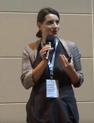 Dra. Simone Kustec Lipicer fala sobre a necessidade de boas práticas de governança. Foto: Reprodução Youtube