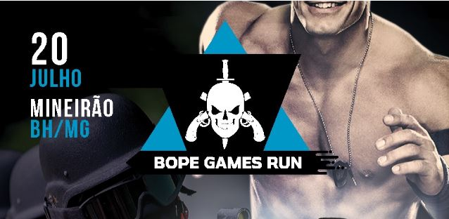 Corrida de rua - BOPE GAMES RUN